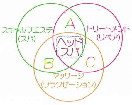 ヘッドスパ説明図